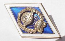 """RUSSIAN ENAMEL PIN BADGE AWARD INSIGNIA ORDER MEDAL GOLD ART 999"""" SILVER SOVIET"""
