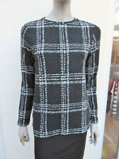 Next - Womens Charcoal Mix Soft Fine Knit Stretch Jumper Top - size 10