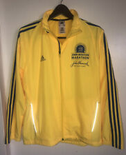 2009 Boston Marathon Adidas Running Zip Jacket Windbreaker Climaproof Medium EUC