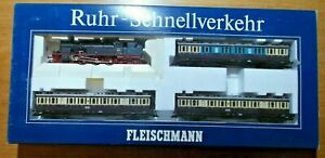 Fleischmann 4887 Train Pack -quick Traffic with Instructions New Boxed