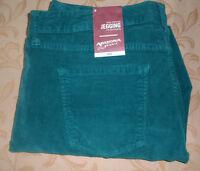 NWT 15 ARIZONA Super Skinny STRETCH CORDUROY LEGGING PANTS JEANS ~ RICH TEAL $56