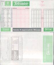TOTOCALCIO -  SCHEDA  N.1  DEL 22 AGOSTO 1999