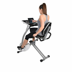 Stamina 2-in-1 Recumbent Cycling Workstation/Standing Desk - 15-0321