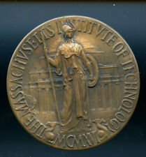 1916 MIT bronze commemorative medal - Cambrige and founder, C Keck design CP175