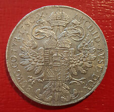 AUSTRIA / 1780 S.F. Thaler Maria Theresa Milano Mint !!