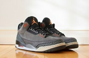 Air Jordan 3 Retro Fear Pack US Size 12 EU 46 626967 040 Nike