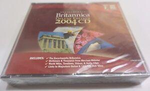 Encyclopedia Britannica 2004 3-CD Set Deluxe Edition for Windows, Mac