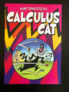 Calculus Cat, Paperback comic book by Emerson, Hunt knockabout 2014