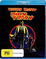 DICK TRACY (1990 Warren Beatty)   -  Blu Ray - Sealed Region B
