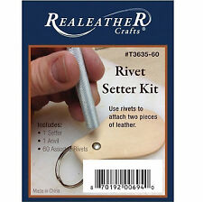 Rivet Setter Kit Nickel Plated T3635-60 by Real Leather