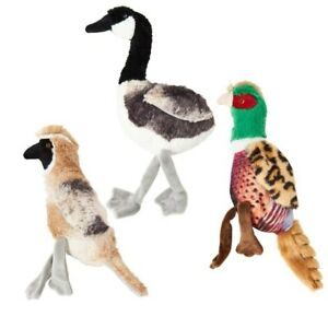 SPOT Ethical REALISTIC BIRD CALLS Plush REAL Bird Sound Animal DOG TOY
