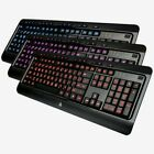 AZIO KB505U Large Print Tri-Color Backlit LED USB Keyboard