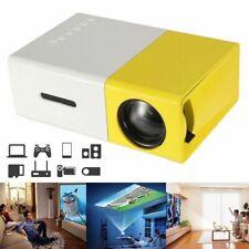 YG300 1080P Home Theater Cinema USB HDMI AV SD Mini Portable HD LED Projector pw