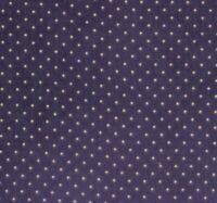 BY THE 1/2 YD~ESSENTIAL DOTS off WHITE ON navy BLUE~MODA BASICS FABRIC~8654-25