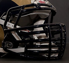 *CUSTOM* ST. LOUIS RAMS Riddell SPEED Football Helmet Facemask - NAVY BLUE