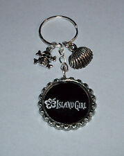 KENNY CHESNEY PIRATE FLAG ISLAND GIRL TOUR POCKETBOOK HANDBAG CHARMS KEYCHAIN
