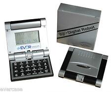 Tavolo Orologio. Accessorio sveglia & calcolatrice. Top Digitale Robot ripiegare