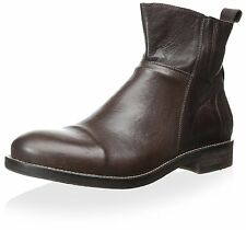 Bacco Bucci Men's Seppi Boot Brown Leather SZ US 11.5 MSRP 295$ Made in ITALY