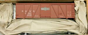 HO Scale - ACCURAIL 1177 PITTSBURGH & SHAWMUT 36' Fowler Wood Boxcar KIT