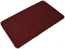Ancient Red Multi Directional Doormat Front Back Step Polypropylene Mat 80x 50cm