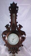 Thermomètre en bois . Wooden Thermometer fin du 19èmes