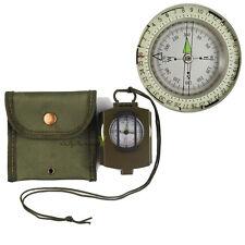 Metal Waterproof Professional Pocket Military Geology Compass Navigator sea