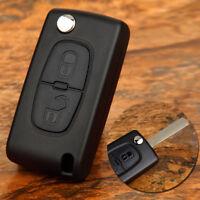 Coque Plip Clé Télécommande 2 Boutons pour Peugeot 107 207 307 308 CE0536 ID