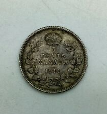 Canada 1911 Type Coin   5 Cents  Very Nice Collector Coin