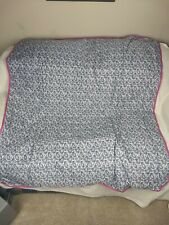 Pampered Chef Paisley Picnic Blanket Nice & Hard To Find - Excellent: Free Ship