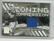 PEYTON MANNING 2006 DONRUSS ELITE ZONING COMMISSION GAME USED JERSEY#/399
