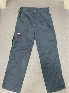 Dickies Work/Cargo/Carpenter/ Double Knee Trousers W28  Hardly Worn Navy