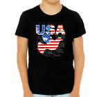 4th of July Shirts for Boys USA Shirt Patriotic Shirts for Boys Peace Dove US Fl