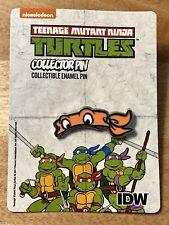 Con Exclusive IDW Teenage Mutant Ninja Turtles Enamel Pin - Michelangelo NEW