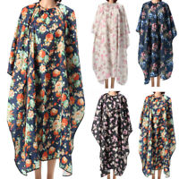 Flower Style Salon Hair Cutting Hairdressing Barber Cape Gown Cloth Waterproof