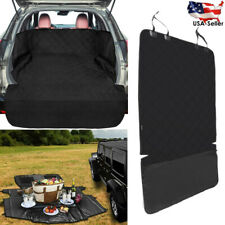 Waterproof Pet Cargo Cover with Side Flap Protector Dog Seat Cover Mat for Suv
