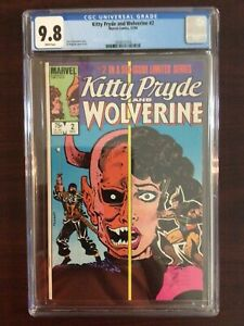 CGC 9.8 Kitty Pryde And Wolverine 2 White Pages - Free Shipping