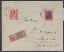 Marienwerder 80pfg lilac proof on cover, signed, Attest,  Michel 19P2