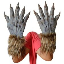 1 Pair Halloween Werewolf Wolf Paws Claws Cosplay Gloves Creepy Costume Party