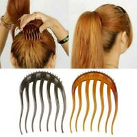 Women Ponytail Inserts Hair Clip Hairpin Hair Comb Styling Tools G1O7
