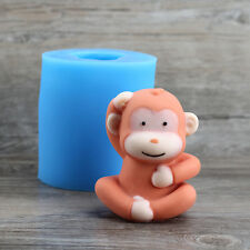 3D Monkey Silicone Soap Molds Chocolate Mould Baking Cake Decorating Ice Cream