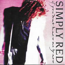 """Simply Red If You Don't Know Me By Now UK 45 7"""" sgl +Picture Sleeve +Move On Out"""