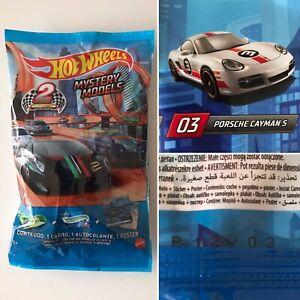 2021 HOT WHEELS Mystery Models #3 Porsche Cayman S x1 (White Series 2) Unopened