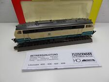 Fleischmann 4933 - HO - DB - Diesellok 218 452-1 - Reinigungslok - OVP #3011