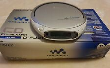More details for sony walkman personal cd player with fm radio tuner d-fj211