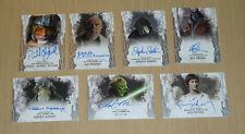 2017 Topps Star Wars Masterwork 7-card autograph auto lot