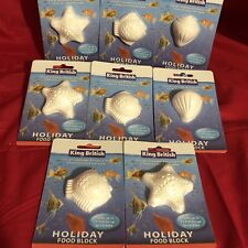 8x Vacation Holiday Fish Food Blocks For Upto 15 Tropical Coldwater Fish 14 Days