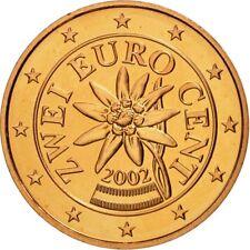 Austria / Osterreich / Autriche / Oostenrijk 2 Euro Cent 2002 UNC