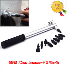 Autos Tap Down Knockdown Paintless Dent Repair Hail Removal Tools 9 Heads