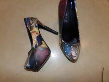 Beauty and the Beast Womens Shoes Sz 6 High Heels