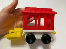 Circus Train Caboose 1991 Fisher Price Little People